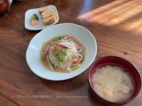 テレワークの日のお昼ごはん(あんかけチャーハン)