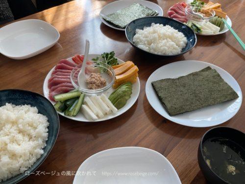 手巻き寿司パーティ