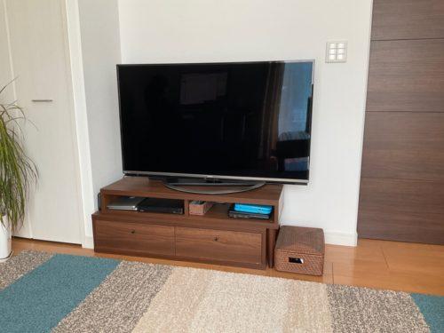 テレビボードbefore