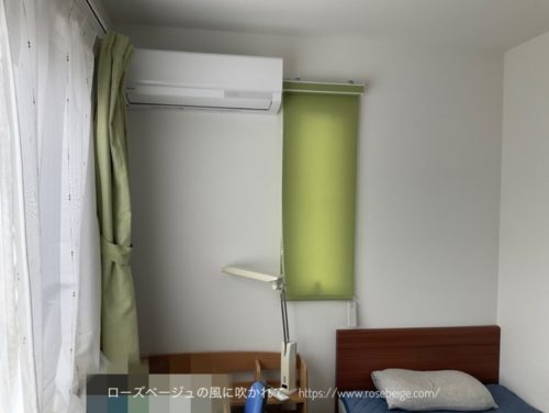 長男部屋のエアコン買い替え